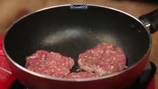 چگونه یک همبرگر سالم بپزیم؟
