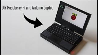 لپتاپ دستساز با رزبریپای و آردوینو