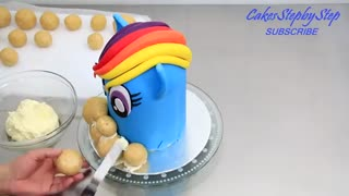 کیک تولد کره ای پونی کوچولو
