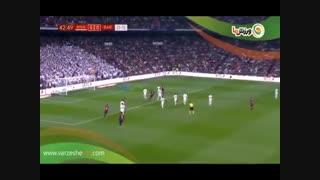 خلاصه بازی رئالمادرید 0 - بارسلونا 3 (9-12-1397)