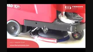 اسکرابر خودرویی - نظافت اولیه