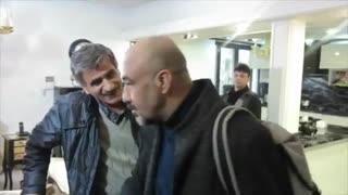 حضور رضا عطاران در پشت صحنه فیلم سینمایی لازانیا - iCinemaa.com