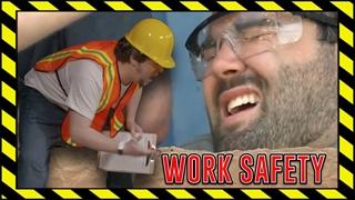 ایمنی در محل کار!