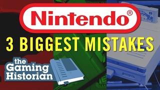 ۳ تا از بزرگترین اشتباهات نینتندو