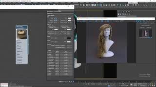 آموزش ساخت متریال مو کرونا برای تری دی مکس Corona Hair Material 3ds Max