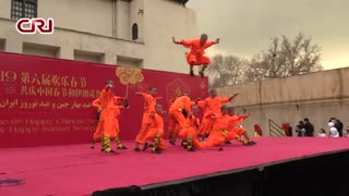 کنجکاوی و هیجان  شهروندان تهرانی هنگام تماشای مراسم رقص اژدهای چینی