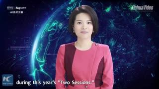 اولین گوینده خبر زن با هوش مصنوعی