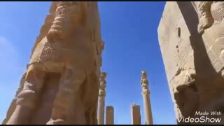 ویدیویی زیبا از تخت جمشید پایتخت باشکوه پادشاهی ایران در زمان هخامنشیان