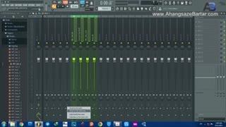 آموزش رایگان آهنگسازی - نحوه گروه بندی کانال ها در میکسر