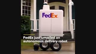 رونمایی از ربات های تحویل بسته پستی فدکس