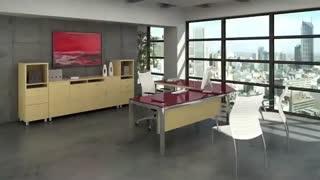 گروه تولیدی رایان میز | میز اداری مدرن | میز مدیریت کلاسیک | مبلمان اداری مدرن