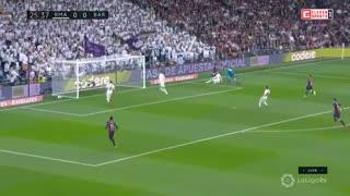 خلاصه دیدار رئال مادرید 0_1 بارسلونا (هفته 26 لا لیگا اسپانیا)