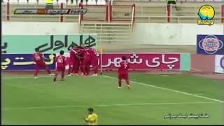 خلاصه بازی فوتبال تراکتورسازی 2   سپاهان 0