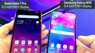 مقایسه Galaxy M30 وRedmi Note 7 Pro