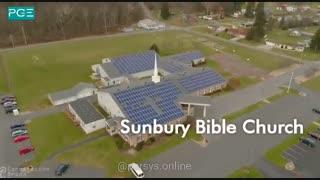 """تجهیز کلیسای """"کتاب مقدس آفتابگردان"""" به نیروگاه خورشیدی"""