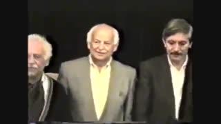 دکلمه شعری زیبا از فرویدون مشیری همراه با اجرای زنده سرود ای ایران