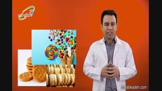 مواد غذایی نامناسب برای کودکان بیش فعال