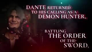 تریلری  شامل خلاصه داستان سری Devil May Cry