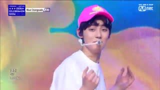 اجرای اهنگ Blue Orangeade از تی اکس تی در TXT  comeback show