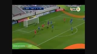 خلاصه بازی الدحیل 3 - استقلال 0 (14-12-1397)
