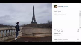 آپدیت امروز نفس بی نام(پارک شین هه) FULL HD کمیاب ویدیو کامل(با عنوان پاریس)