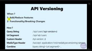 مدیریت Versioning و نسخه بندی API ها در ASP.NET Core