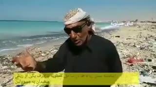 انباشته شدن زباله در ساحل عسلویه و حرف دل یکی از ریش سفیدان با مسئولین
