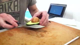 استاپ موشن خلاقانه از لایه های مختلف مواد غذایی