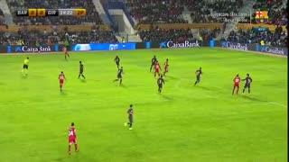 فول مچ بازی بارسلونا 0-1 ژیرونا ; شکست بارسا در فینال سوپرکاپ کاتالونیا