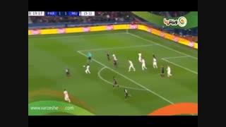 خلاصه بازی پاری سن ژرمن 1 - منچستر یونایتد 3 (15-12-1397)