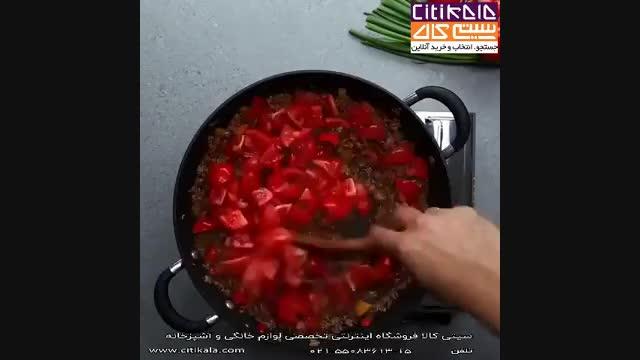 طرز تهیه اسپاگتی - آشپزی با سیتی کالا