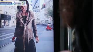 شیوه جدید walking dead برای تبلیغات با واقعیت افزوده