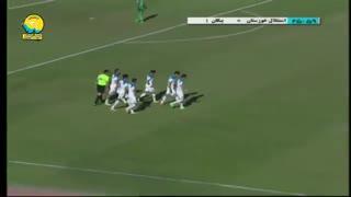خلاصه دیدار استقلال خوزستان 0_1 پیکان (هفتۀ بیستویکم لیگ برتر ایران)