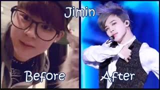 قبل و بعد اعضای بی تی اس!!!