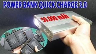 ساخت پاوربانک با باتری مکبوک