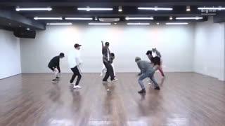 پشت صحنه بسیار  زیبا از گروه BANGTANTV اسم موزیک Dance Practice