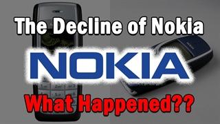 سقوط نوکیا - چه اتفاقی افتاد؟
