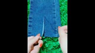 آموزش  چند روش  برای نو کردن  شلوار های جین  قدیمی