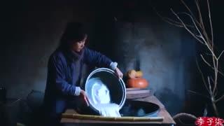 کارهای جالب زن چینی8