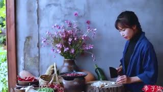 کارهای جالب زن چینی11