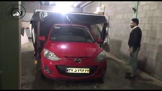 پارکینگ تمام اتوماتیک | سایه بان اتوموبیل | پارکینگ ضد سرقت