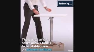 میز بدون لرزش