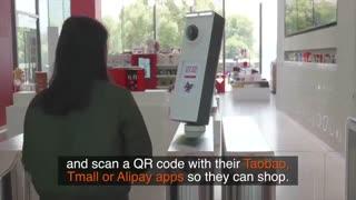 علی بابا یک «فروشگاه بدون صندوق دار» را در چین افتتاح کرده است