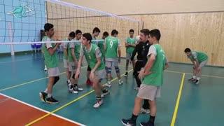 اولین اردوی استعدادهای برتر والیبال