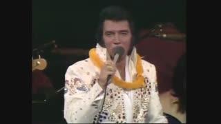 اینم  {Elvis Presley  {steamroller blues 1973