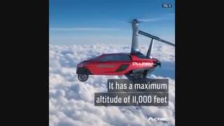شرکت هلندی نخستین خودروی پرنده درجهان را باموفقیت آزمایش کرد.