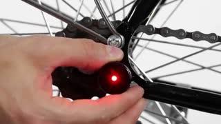 چراغهای دوچرخه مغناطیسی لوستا