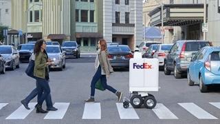 ابداع پیک رباتیک که از پله بالا میرود