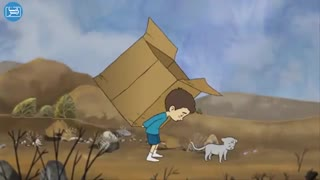 انیمیشن زیبای جعبه