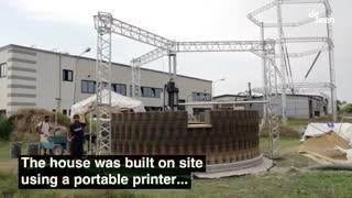 پرینتر سه بعدی و خانه